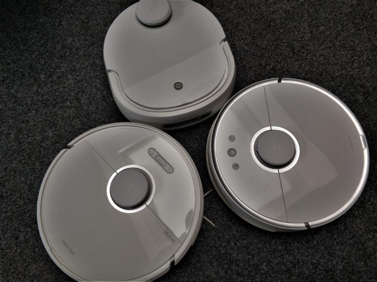 Narwal Robotics Saugroboter Design Vergleich Dunkelheit