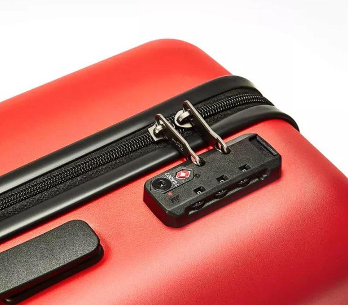 Redmi 20 Zoll Koffer Schloss und Reißverschluss