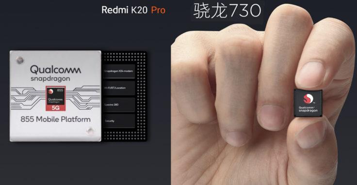 Redmi K20 Pro CPUs