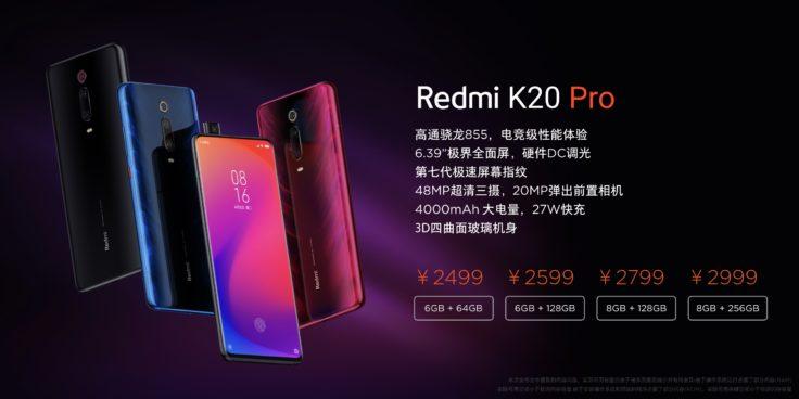 Redmi K20 Pro Preis