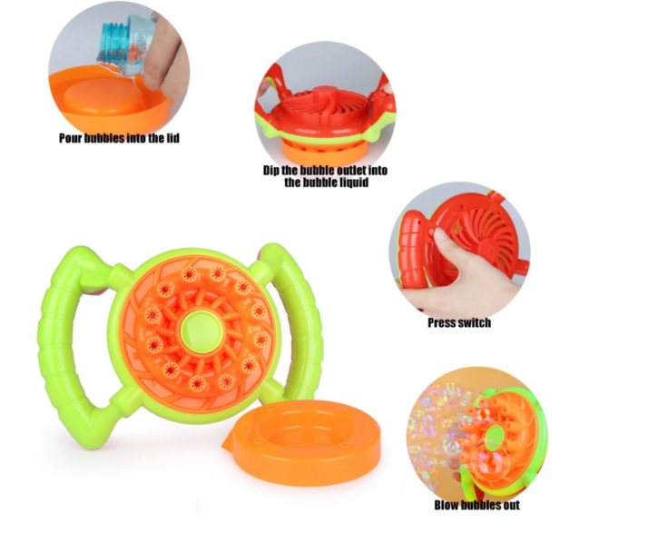 Funktionsweise der Seifenblasenmaschine