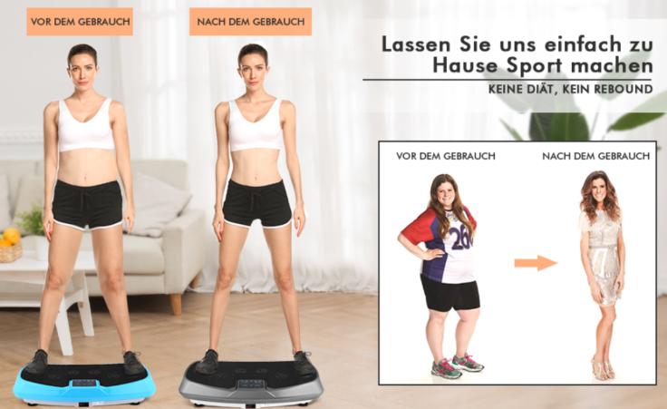 Sport Zuhause Werbung