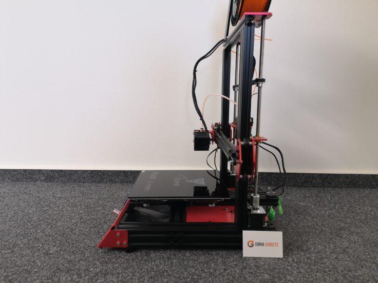 Tevo Flash 3D-Drucker im Profil