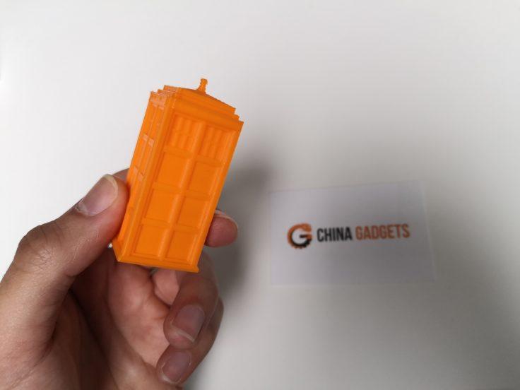 Tevo Flash 3D-Drucker: Testdruck im Detail