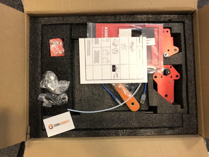 Tevo Flash 3D-Drucker: Verpackung