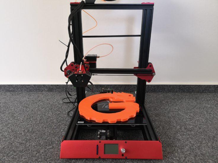 Tevo Flash 3D-Drucker: aufgebaut