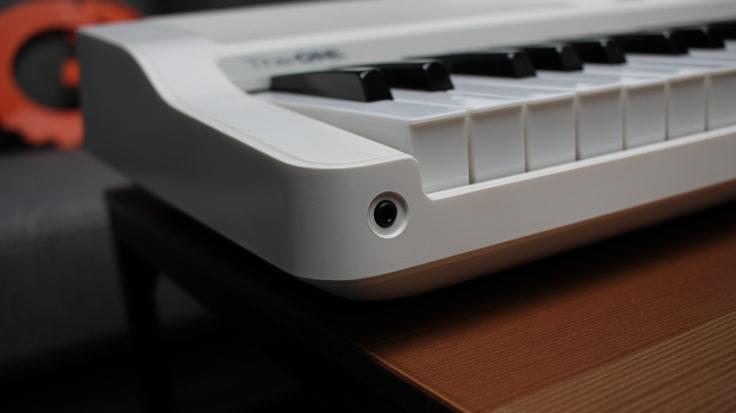 TheOne Smart-Keyboard: Kopfhoerereingang
