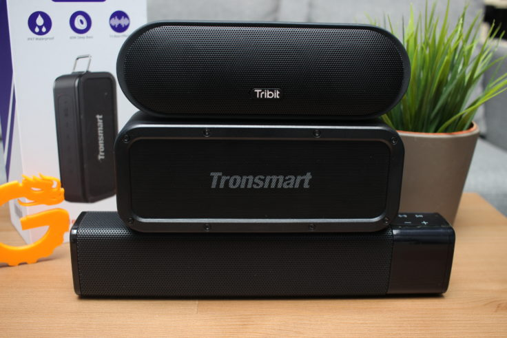 Tronsmart Element Force Tribit MAXSound plus und JKR- KR 1000