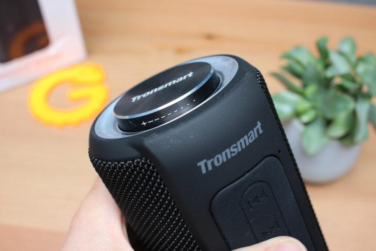 Contrôle du volume Tronsmart T6 Plus
