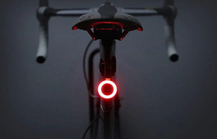 Die Utorch Fahrradlampe ist kompakt