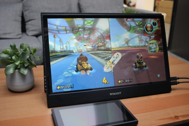 WIMAXIT 15,6 Zoll USB-C Monitor Nintedo Switch Gameplay