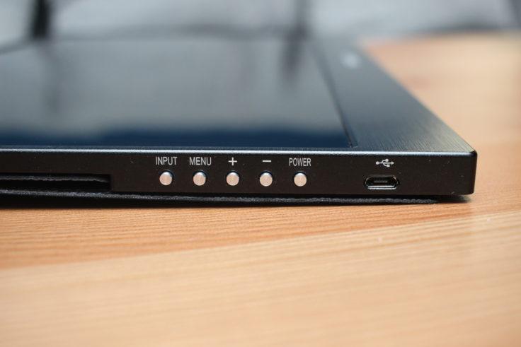 WIMAXIT 15,6 Zoll USB-C Monitor Tasten