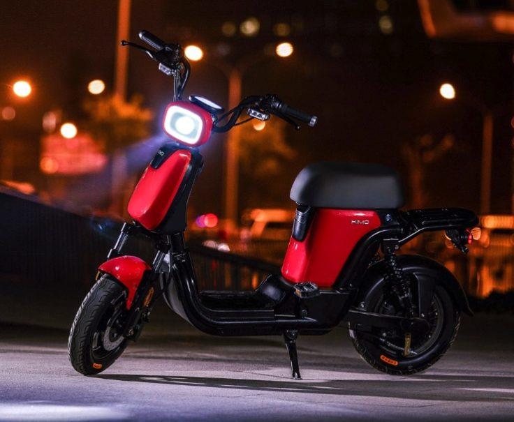 Xiaomi HIMO T1 E-Roller Licht