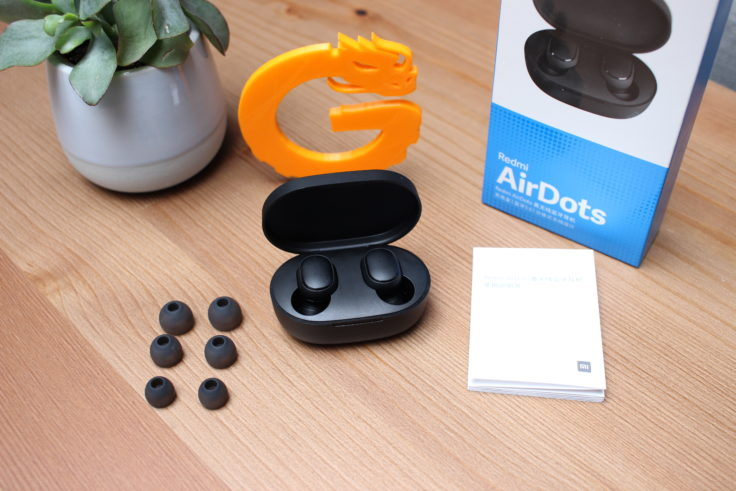 Xiaomi Redmi Airdots wireless In-Ear Lieferumfang