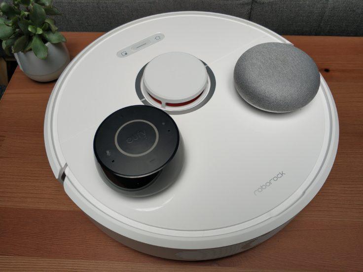 Xiaomi Roborock S6 Saugroboter Steuerung Alexa Google Home