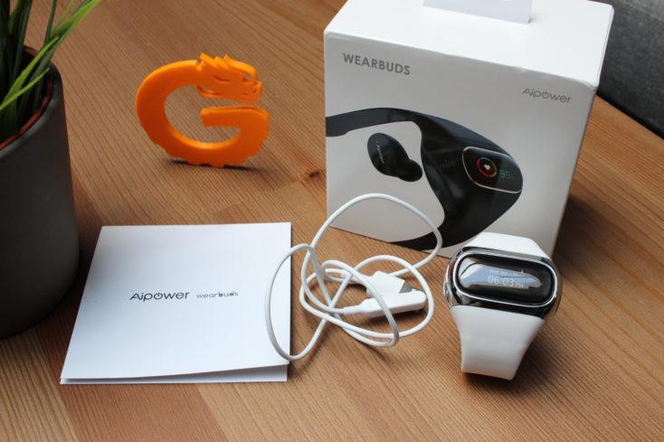 AiPower Wearbuds Lieferumfang