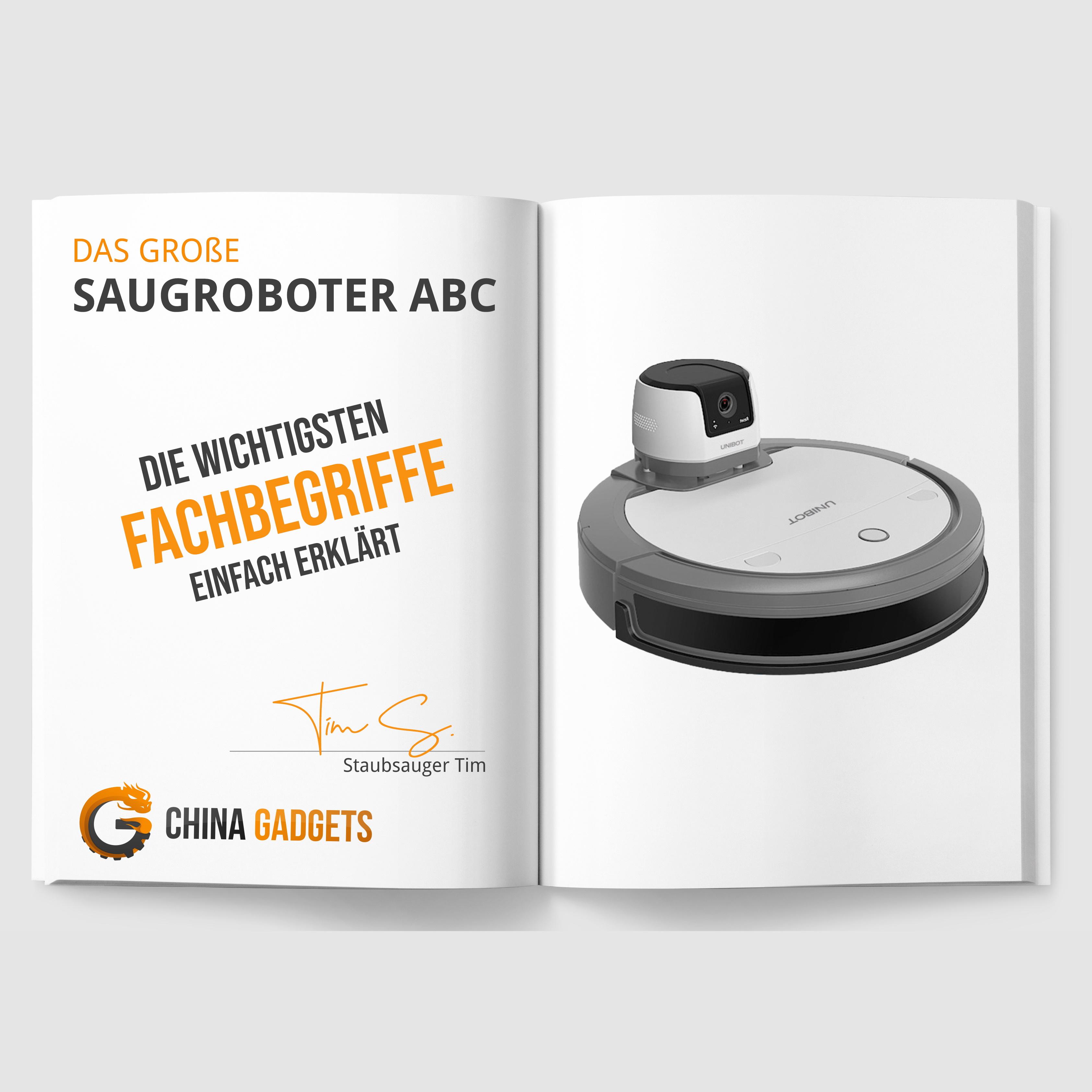 Das große Lexikon für Saugroboter-Fachbegriffe