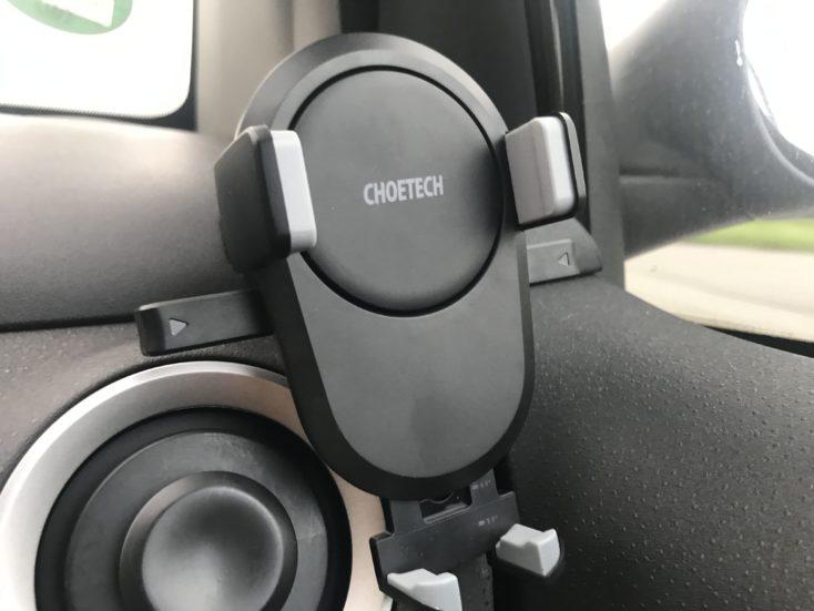 CHOETECH T530-S KFZ Qi-Ladegerät in Auto