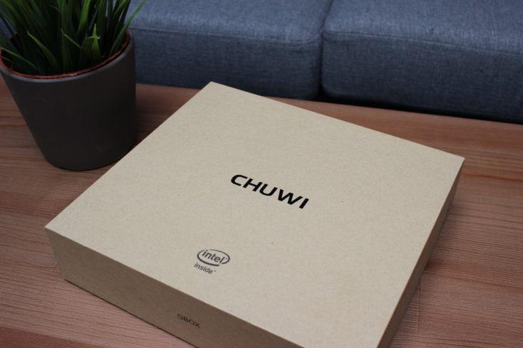 CHUWI Minibook Karton Verpackung (3)