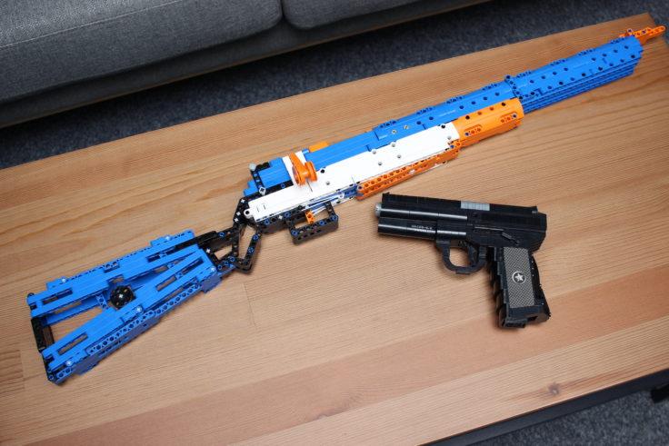 CaDA Caliber 30 M1 Gewehr Vergleich Pistole