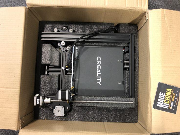 Creality CR-20 3D-Drucker: Druckbett