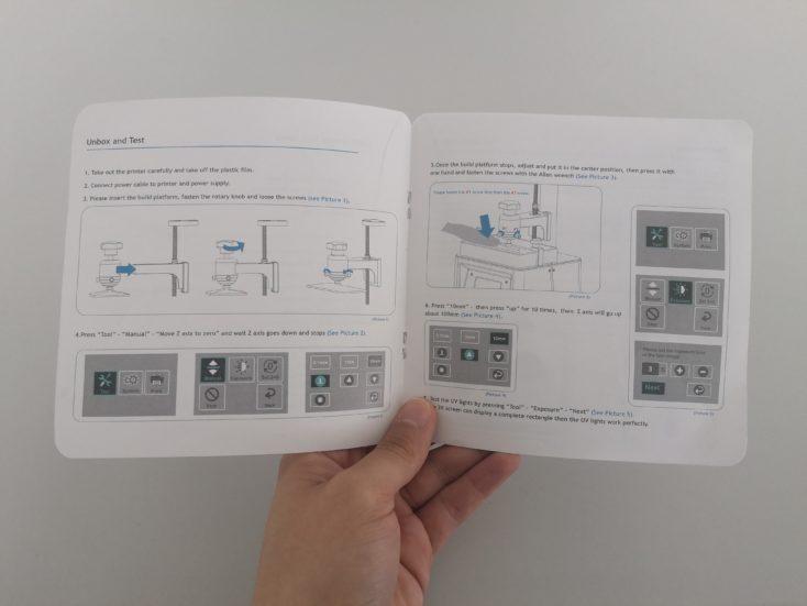 Elegoo Mars 3D-Drucker Bedienungsanleitung
