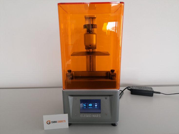 Elegoo Mars 3D-Drucker: Beitragsbild