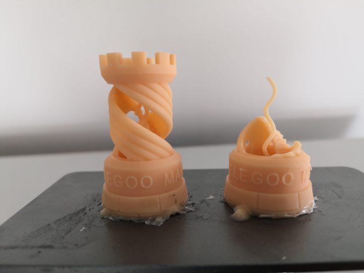Elegoo Mars 3D-Drucker: kaputter Turm