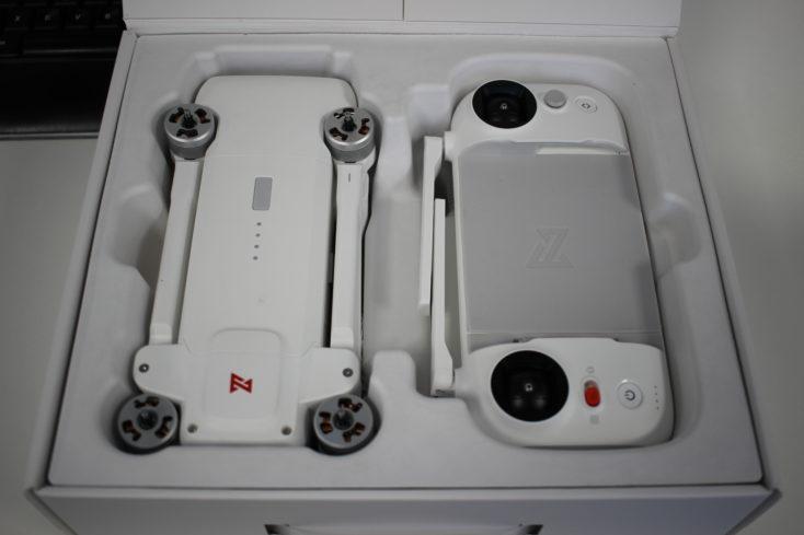FIMI X8 SE Drohne im Karton