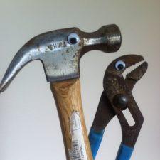 Googly eyes Werkzeug