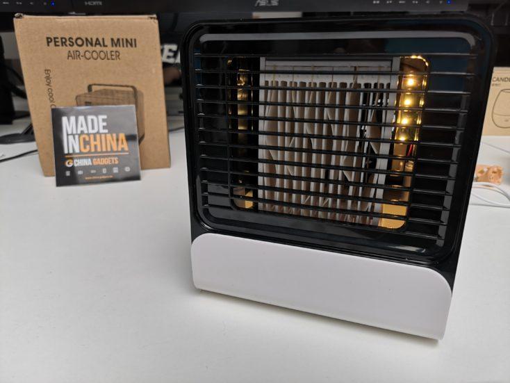 Homegeek Tisch Klimaanlage: Licht