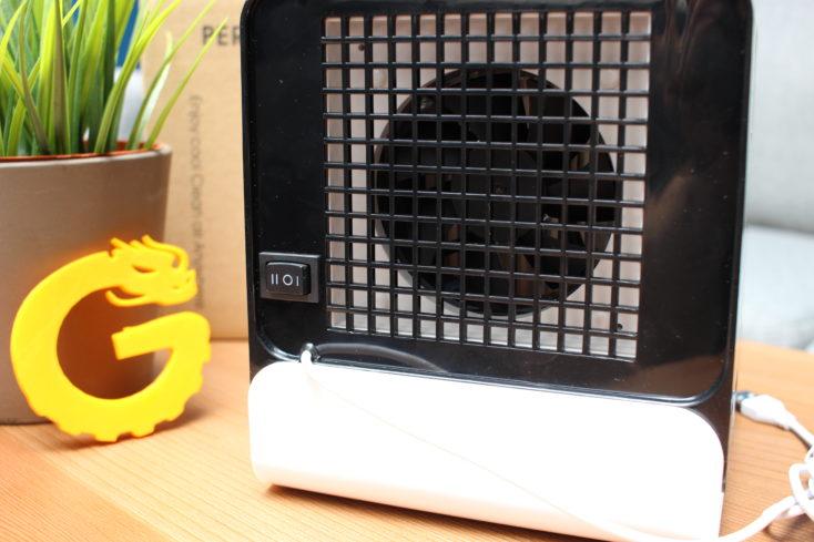 Homegeek Tisch Klimaanlage: Schalter