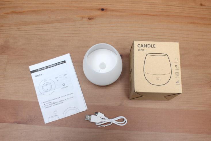 Huawei Opple LED Kerze Lieferumfang