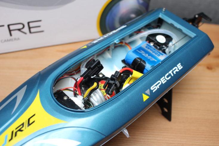 JJRC S4 Specre RC-Boot Innenraum und Motor (3)