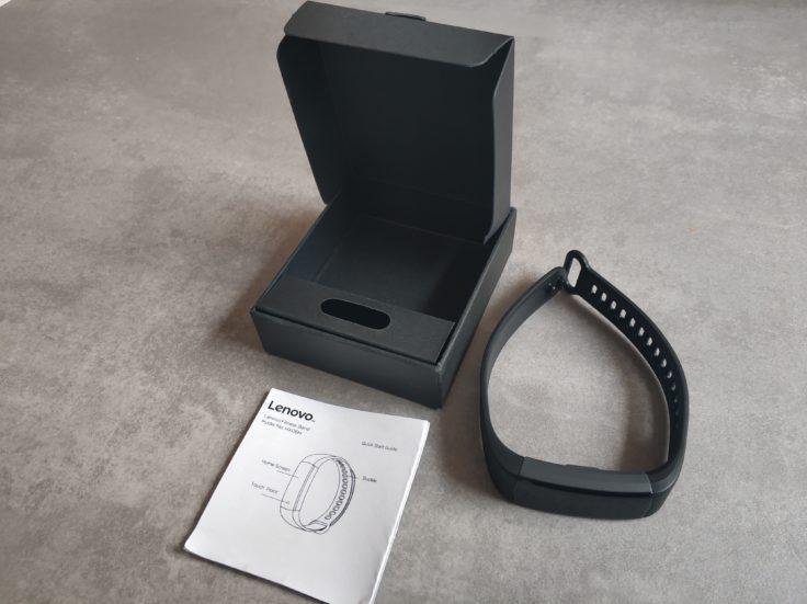 Lenovo HX06H Fitnesstracker Lieferumfang