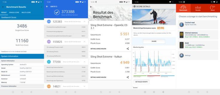 OnePlus 7 Pro Benchmarks