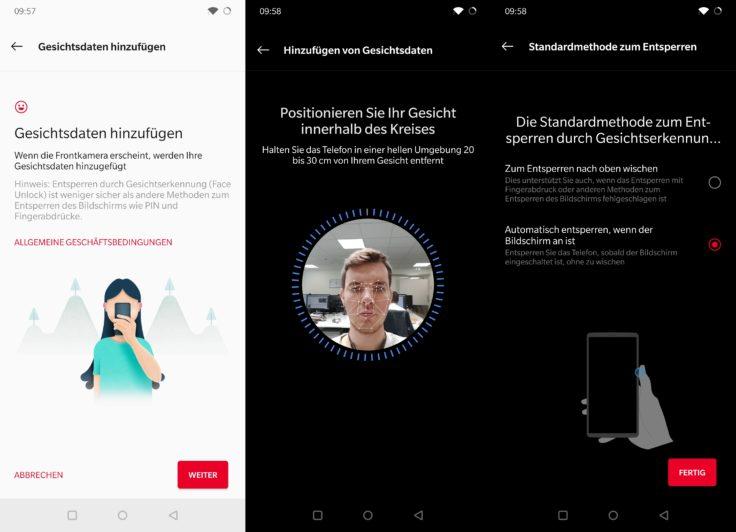 OnePlus 7 Pro Face Unlock
