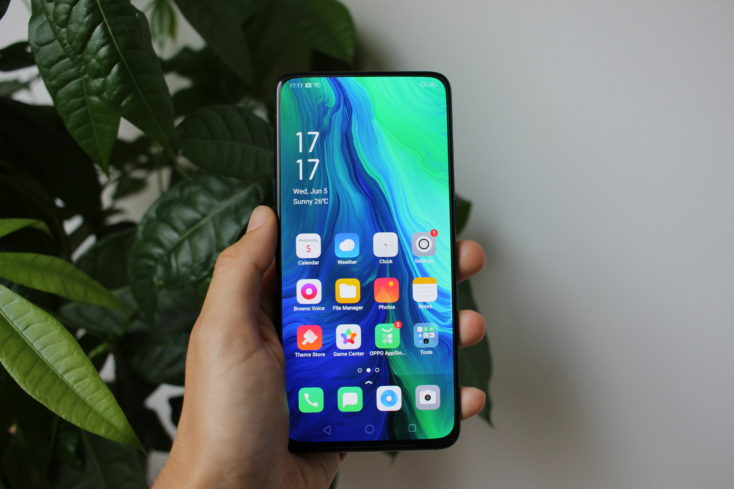 Oppo Reno 10X Zoom Display