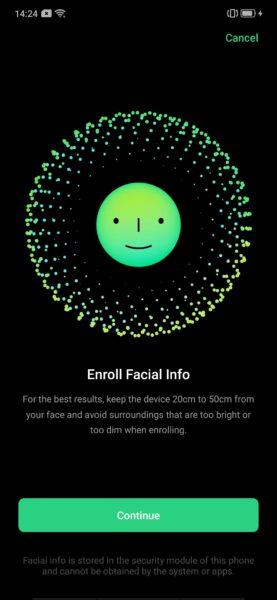 Oppo Reno 10X Zoom Face Unlock Software