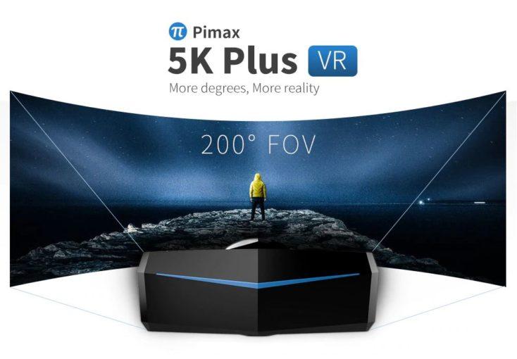 PIMAX 5K VR Brille