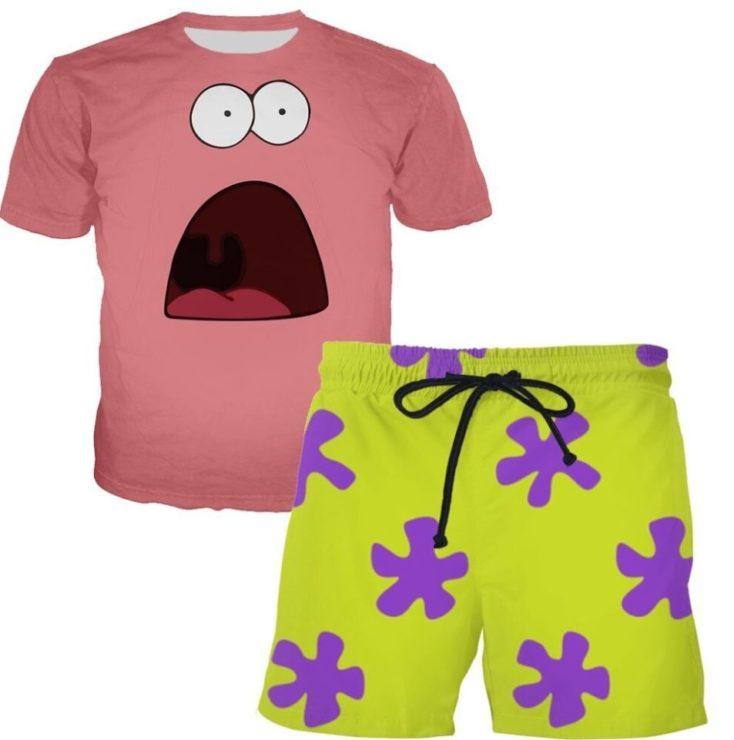Badeshorts und T-Shirt von Patrick