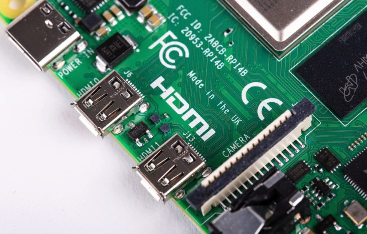 Raspberry Pi 4 HDMI Anschlüsse