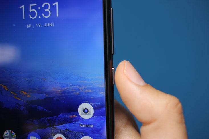 UMIDIGI S3 Pro Power-Button