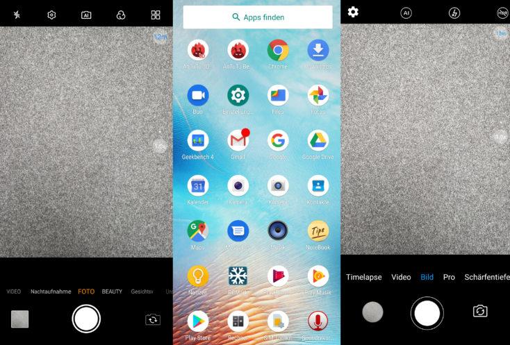 UMIDIGI S3 Pro Zwei Kamera-Apps