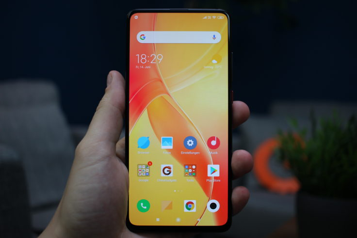 Xiaomi Mi 9T Display gelb