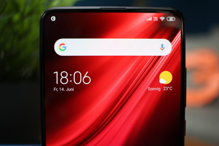 Xiaomi Mi 9T Display ohne Notch