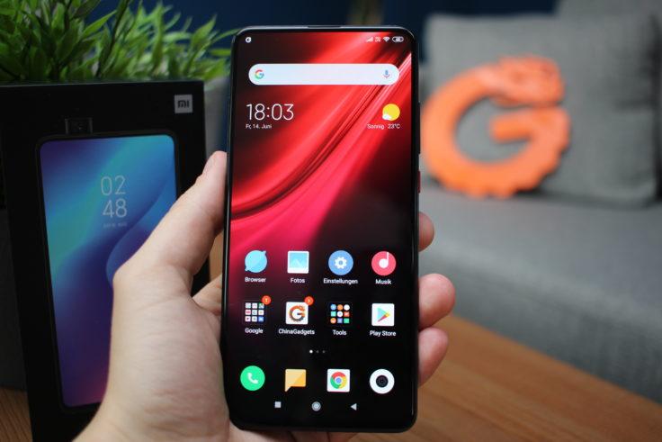 Xiaomi Mi 9T Display rot