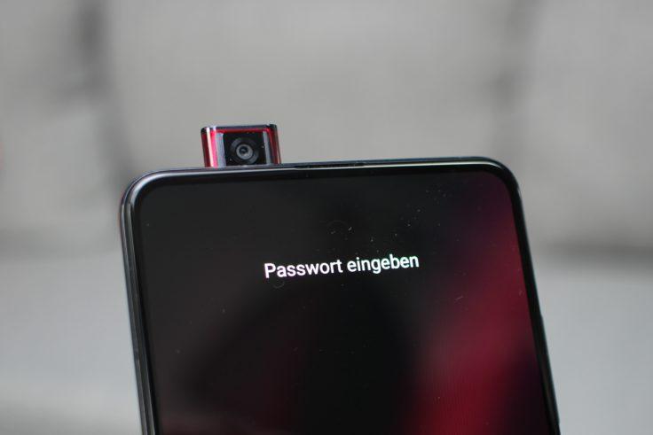 Xiaomi Mi 9T Frontkamera Licht