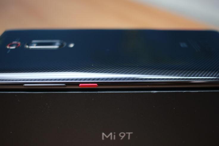 Xiaomi Mi 9T Seite Design