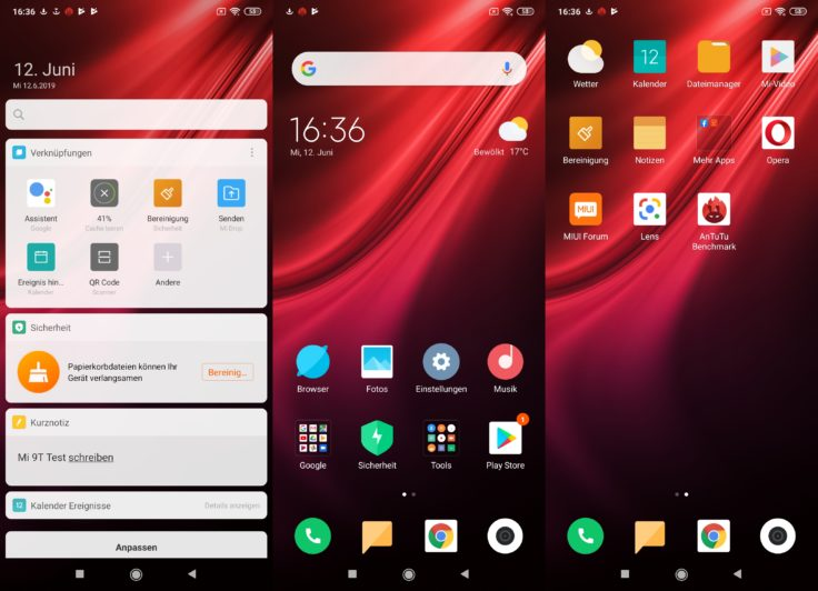 Xiaomi Mi 9T Software MIUI